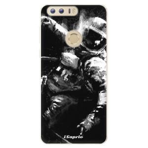 Silikonové pouzdro iSaprio (mléčně zakalené) Astronaut 02 na mobil Honor 8