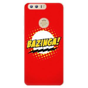 Silikonové pouzdro iSaprio (mléčně zakalené) Bazinga 01 na mobil Honor 8