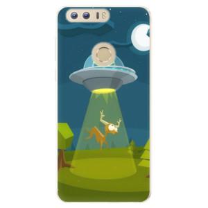 Silikonové pouzdro iSaprio (mléčně zakalené) Ufouni 01 na mobil Honor 8