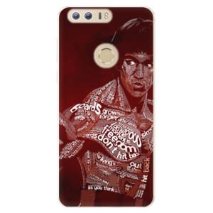 Silikonové pouzdro iSaprio (mléčně zakalené) Bruce Lee na mobil Honor 8