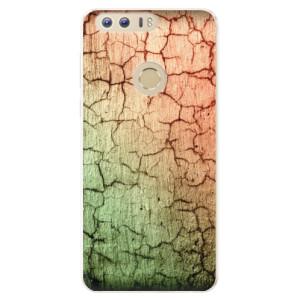 Silikonové pouzdro iSaprio (mléčně zakalené) Rozpraskaná Zeď 01 na mobil Honor 8