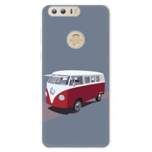 Silikonové pouzdro iSaprio (mléčně zakalené) VW Bus na mobil Honor 8
