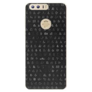 Silikonové pouzdro iSaprio (mléčně zakalené) Ampersand 01 na mobil Honor 8