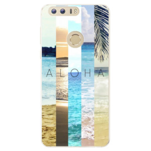 Silikonové pouzdro iSaprio (mléčně zakalené) Aloha 02 na mobil Honor 8