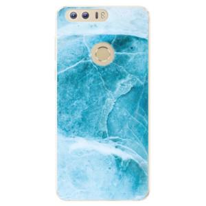 Silikonové pouzdro iSaprio (mléčně zakalené) Blue Marble na mobil Honor 8