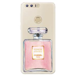 Silikonové pouzdro iSaprio (mléčně zakalené) Chanel Rose na mobil Honor 8