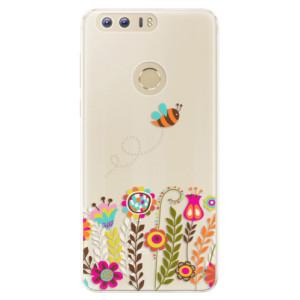Silikonové pouzdro iSaprio (mléčně zakalené) Včelka Pája 01 na mobil Honor 8