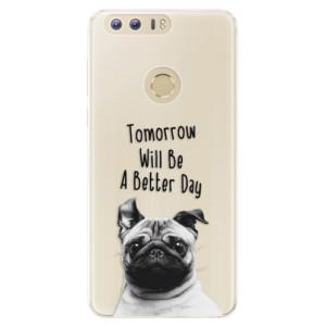 Silikonové pouzdro iSaprio (mléčně zakalené) Better Day 01 na mobil Honor 8