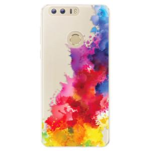Silikonové pouzdro iSaprio (mléčně zakalené) Color Splash 01 na mobil Honor 8