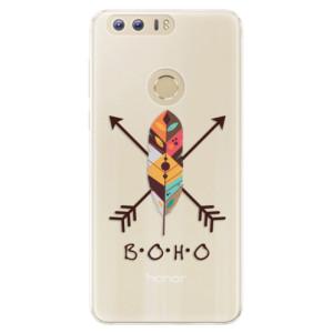 Silikonové pouzdro iSaprio (mléčně zakalené) BOHO na mobil Honor 8