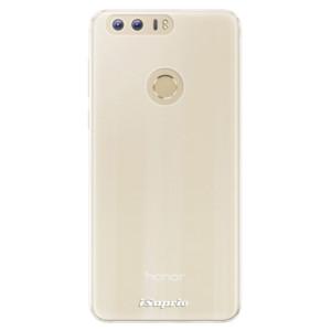 Silikonové pouzdro iSaprio 4Pure mléčné bez potisku na mobil Honor 8