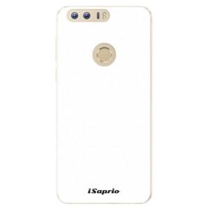 Silikonové pouzdro iSaprio 4Pure bílé na mobil Honor 8
