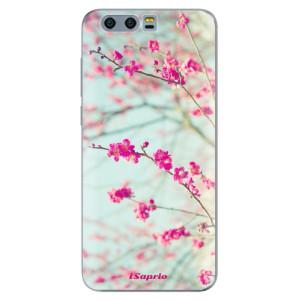 Silikonové pouzdro iSaprio (mléčně zakalené) Blossom 01 na mobil Honor 9
