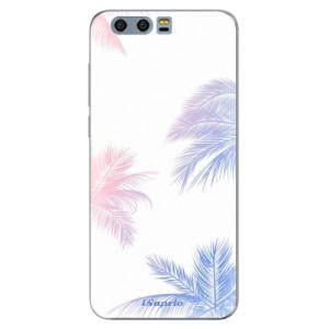 Silikonové pouzdro iSaprio (mléčně zakalené) Palmy 10 na mobil Honor 9