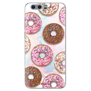 Silikonové pouzdro iSaprio (mléčně zakalené) Donutky Všude 11 na mobil Honor 9
