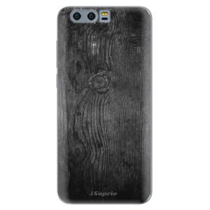 Silikonové pouzdro iSaprio (mléčně zakalené) Black Wood 13 na mobil Honor 9