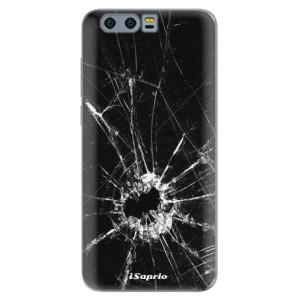 Silikonové pouzdro iSaprio (mléčně zakalené) Broken Glass 10 na mobil Honor 9