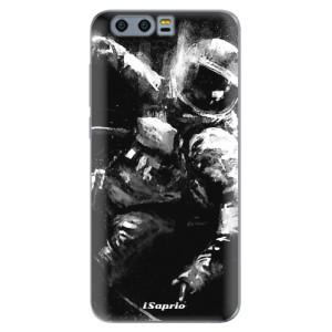 Silikonové pouzdro iSaprio (mléčně zakalené) Astronaut 02 na mobil Honor 9
