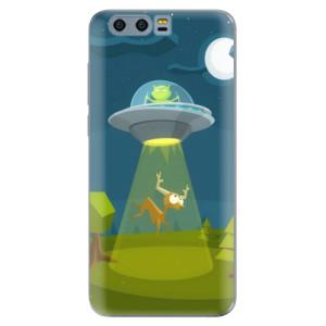 Silikonové pouzdro iSaprio (mléčně zakalené) Ufouni 01 na mobil Honor 9