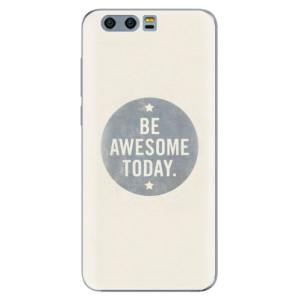 Silikonové pouzdro iSaprio (mléčně zakalené) Awesome 02 na mobil Honor 9