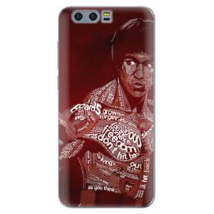 Silikonové pouzdro iSaprio (mléčně zakalené) Bruce Lee na mobil Honor 9