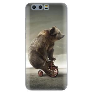 Silikonové pouzdro iSaprio (mléčně zakalené) Medvěd 01 na mobil Honor 9