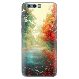Silikonové pouzdro iSaprio (mléčně zakalené) Podzim 03 na mobil Honor 9