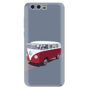 Silikonové pouzdro iSaprio (mléčně zakalené) VW Bus na mobil Honor 9
