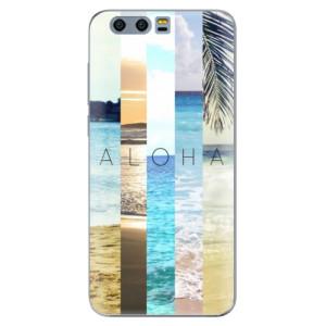 Silikonové pouzdro iSaprio (mléčně zakalené) Aloha 02 na mobil Honor 9