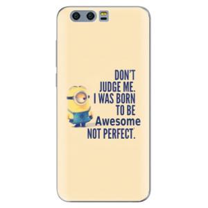 Silikonové pouzdro iSaprio (mléčně zakalené) Be Awesome na mobil Honor 9