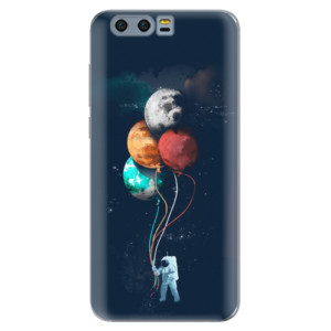 Silikonové pouzdro iSaprio (mléčně zakalené) Balónky 02 na mobil Honor 9