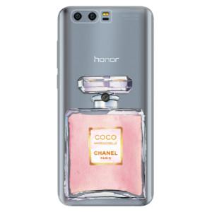 Silikonové pouzdro iSaprio (mléčně zakalené) Chanel Rose na mobil Honor 9