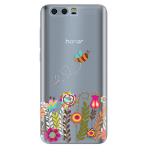 Silikonové pouzdro iSaprio (mléčně zakalené) Včelka Pája 01 na mobil Honor 9