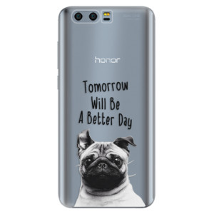 Silikonové pouzdro iSaprio (mléčně zakalené) Better Day 01 na mobil Honor 9