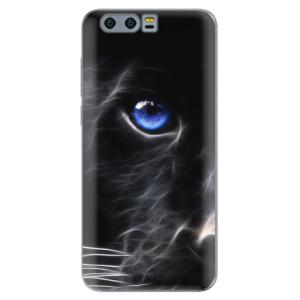 Silikonové pouzdro iSaprio (mléčně zakalené) Black Puma na mobil Honor 9