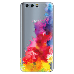 Silikonové pouzdro iSaprio (mléčně zakalené) Color Splash 01 na mobil Honor 9