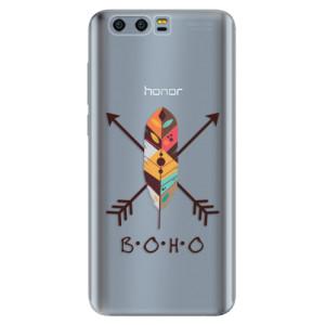 Silikonové pouzdro iSaprio (mléčně zakalené) BOHO na mobil Honor 9