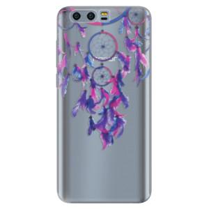 Silikonové pouzdro iSaprio (mléčně zakalené) Lapač snů 01 na mobil Honor 9