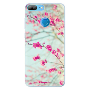 Silikonové pouzdro iSaprio (mléčně zakalené) Blossom 01 na mobil Honor 9 Lite