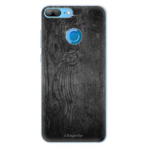 Silikonové pouzdro iSaprio (mléčně zakalené) Black Wood 13 na mobil Honor 9 Lite