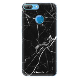Silikonové pouzdro iSaprio (mléčně zakalené) Black Marble 18 na mobil Honor 9 Lite