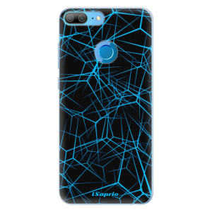 Silikonové pouzdro iSaprio (mléčně zakalené) Abstract Outlines 12 na mobil Honor 9 Lite