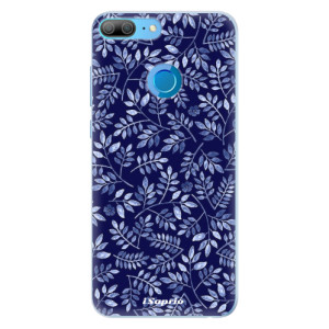 Silikonové pouzdro iSaprio (mléčně zakalené) Blue Leaves 05 na mobil Honor 9 Lite