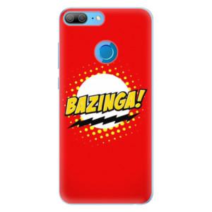 Silikonové pouzdro iSaprio (mléčně zakalené) Bazinga 01 na mobil Honor 9 Lite