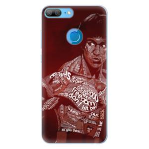 Silikonové pouzdro iSaprio (mléčně zakalené) Bruce Lee na mobil Honor 9 Lite