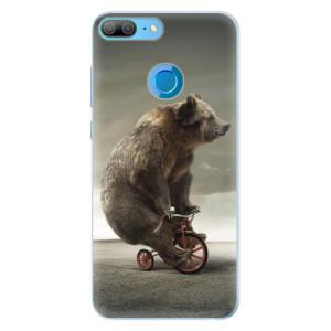 Silikonové pouzdro iSaprio (mléčně zakalené) Medvěd 01 na mobil Honor 9 Lite