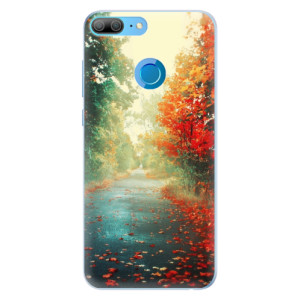 Silikonové pouzdro iSaprio (mléčně zakalené) Podzim 03 na mobil Honor 9 Lite