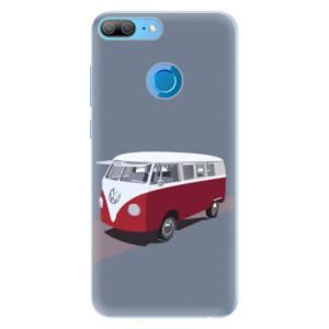 Silikonové pouzdro iSaprio (mléčně zakalené) VW Bus na mobil Honor 9 Lite