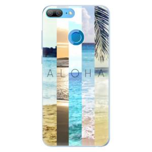 Silikonové pouzdro iSaprio (mléčně zakalené) Aloha 02 na mobil Honor 9 Lite