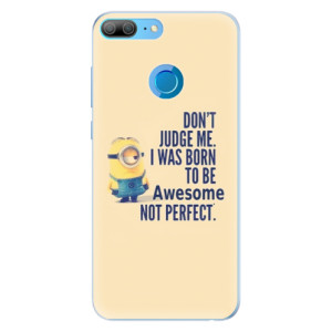 Silikonové pouzdro iSaprio (mléčně zakalené) Be Awesome na mobil Honor 9 Lite